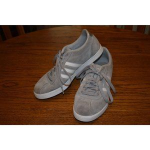 Adidas Courtset Grey Suede Sneakers Size 8.5